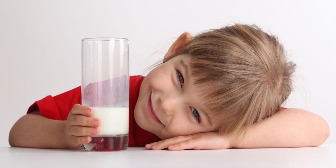 Mi hijo no quiere beber leche