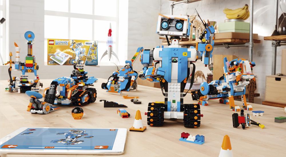 Image post Lego Boost: Un kit para construir robots con piezas de Lego
