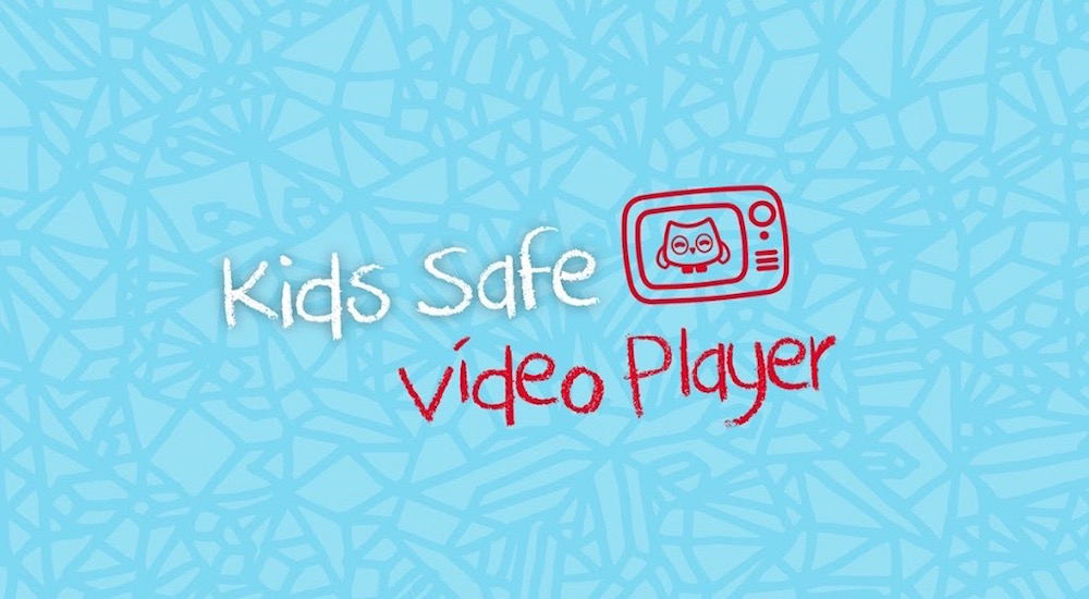 Foto de la entrada:Kids Safe Video Player, un reproductor seguro para los niños
