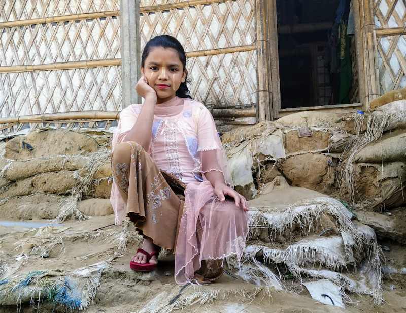 Foto La vida desde los ojos de una niña rohinyá en el campo de refugiados más grande del mundo