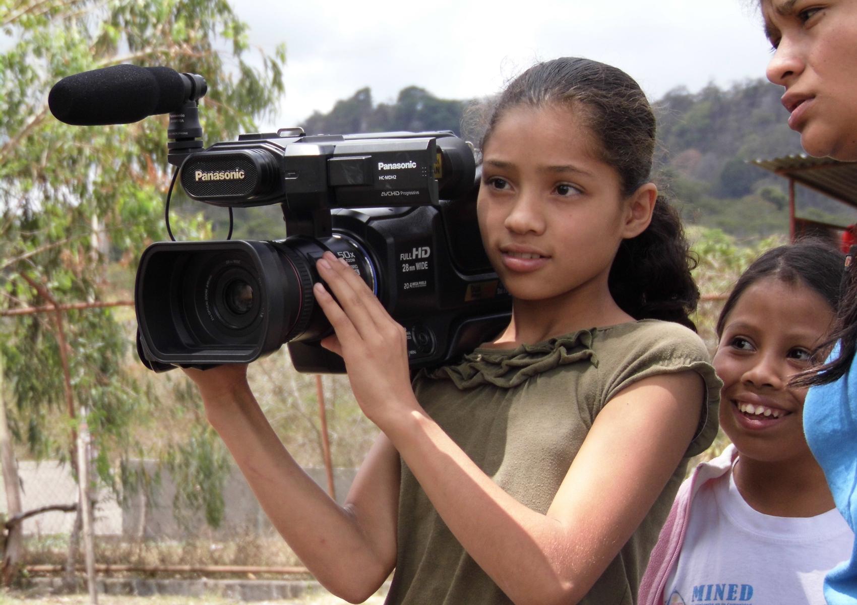 Image post Pequeños periodistas pisan fuerte en Nicaragua y España
