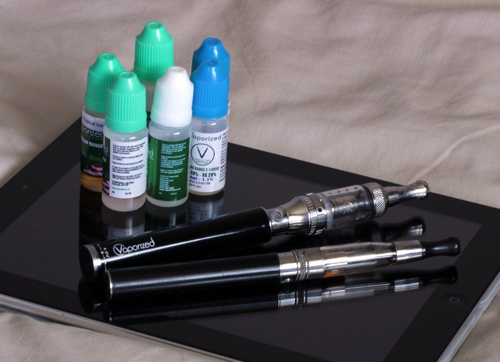 Cuidado con los cigarrillos electrónicos