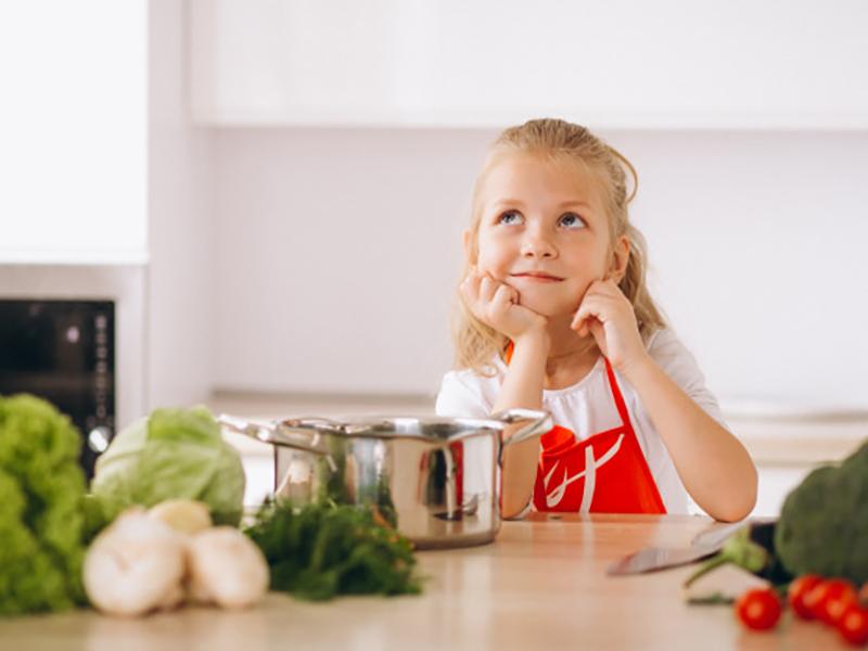 Image post Los niños y las verduras
