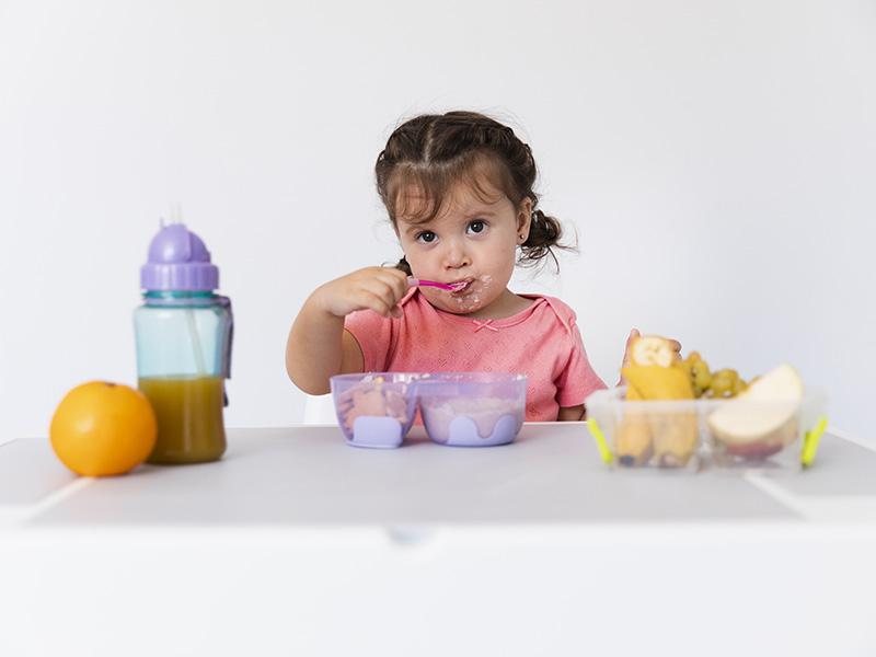 Derechos del niño: acceso a una alimentación saludable