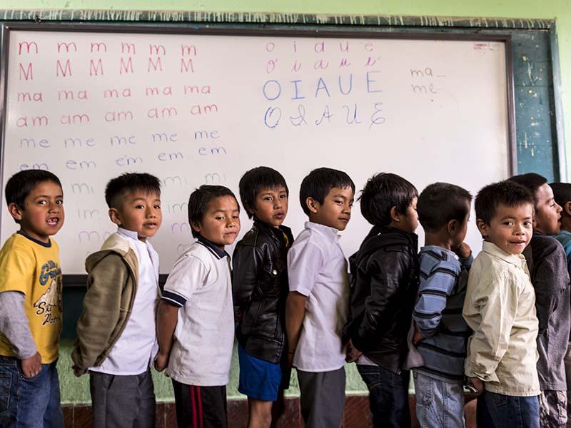 Foto Coronavirus: la emergencia en la infancia más vulnerable