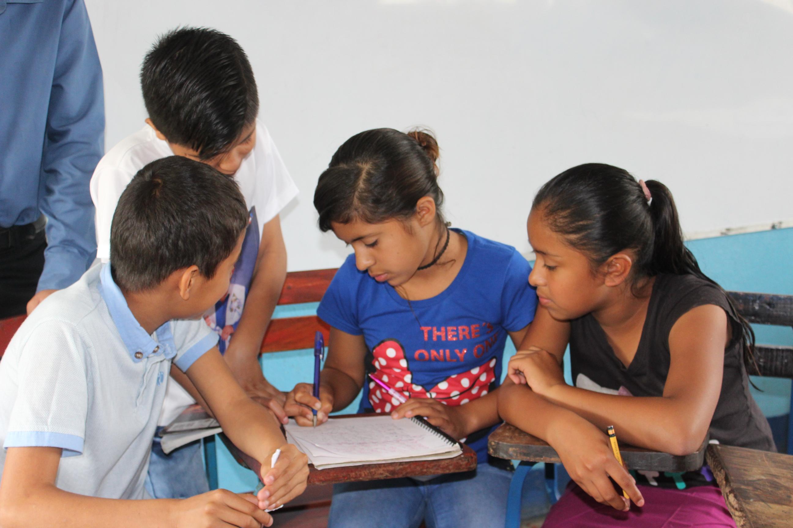 ¿Qué quieren saber los niños y las niñas sobre Educo?
