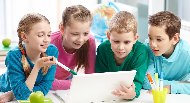 Foto Aprender online, ¡la web ayuda a los niños a estudiar!