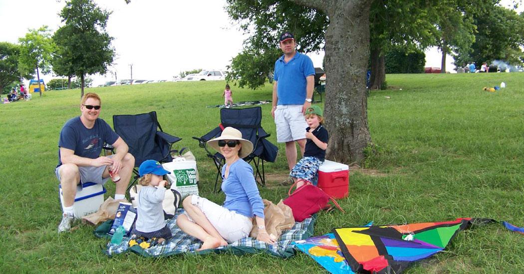 Foto Un picnic saludable: la mejor forma de reunirse en familia