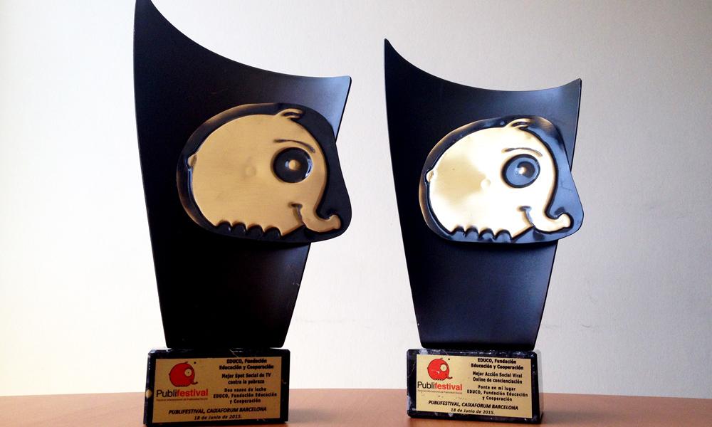 ¡Premiados por segundo año en el Publifestival y doblemente!