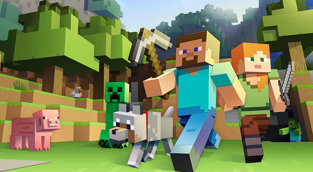 Foto Qué aprende mi hijo con el juego Minecraft