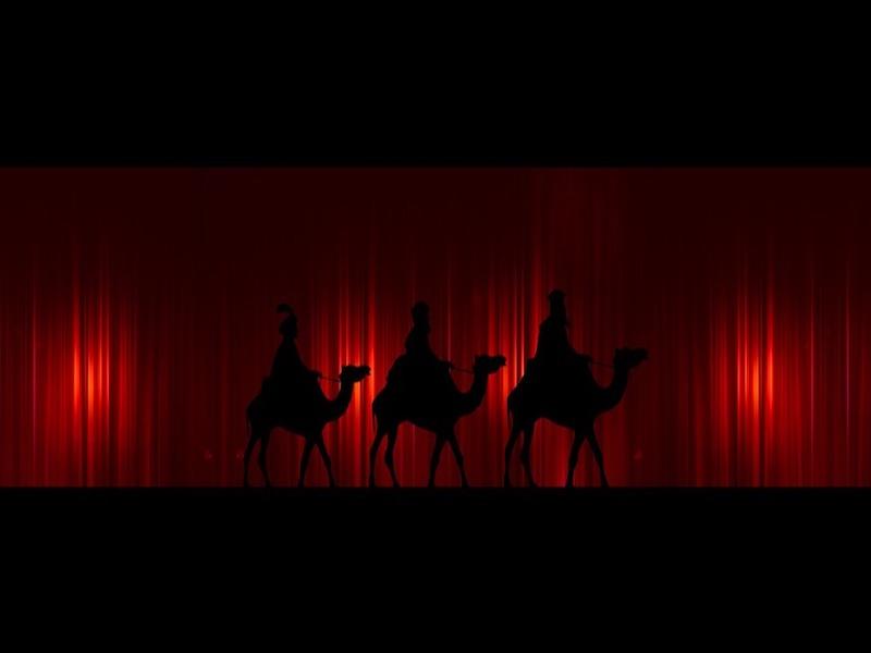 Foto de la entrada:Se ha enterado de que los Reyes no existen