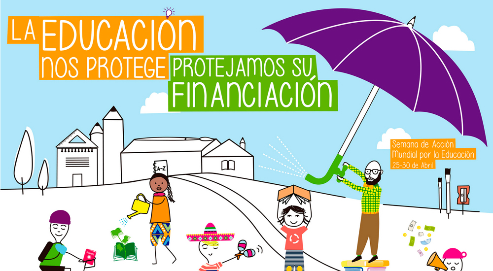 Ya está aquí la Semana de Acción Mundial por la Educación