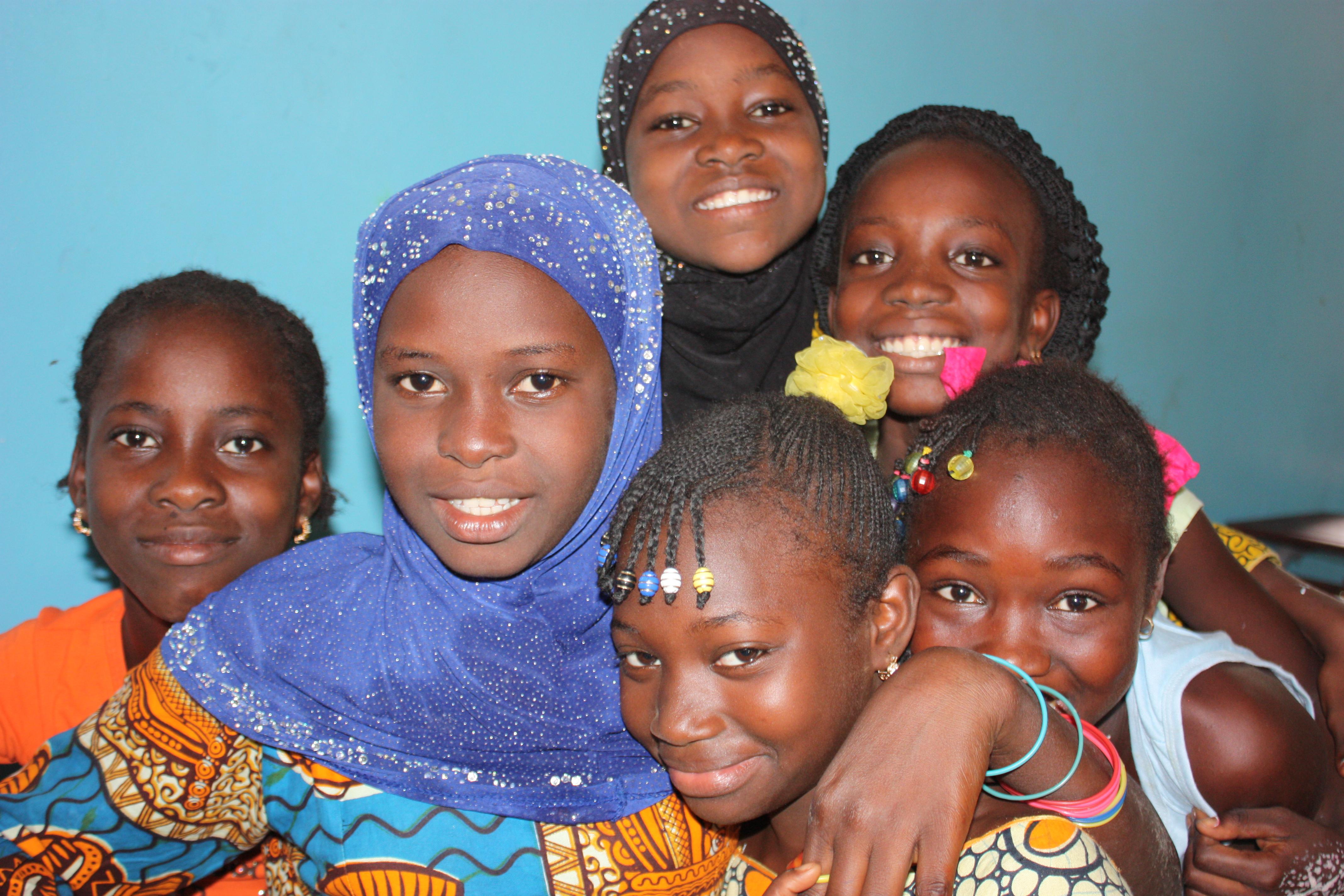 Foto Niños y niñas toman las riendas en Senegal