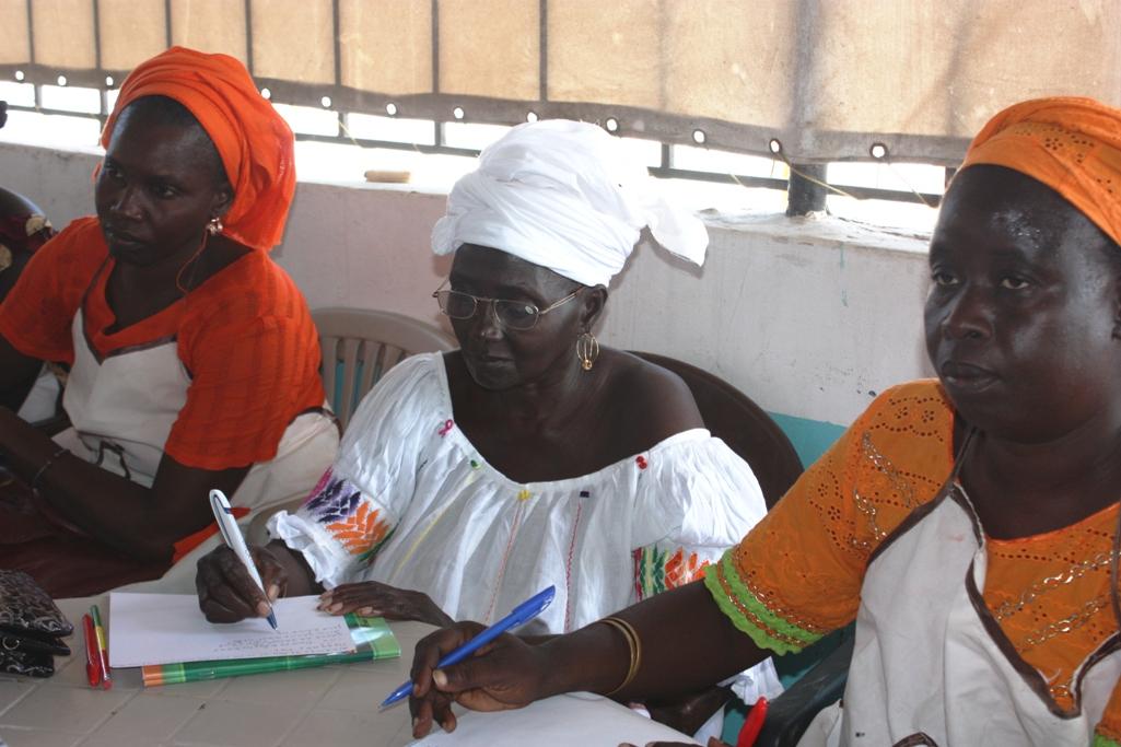 Foto Reconocimiento a nuestro programa de alfabetización en Senegal
