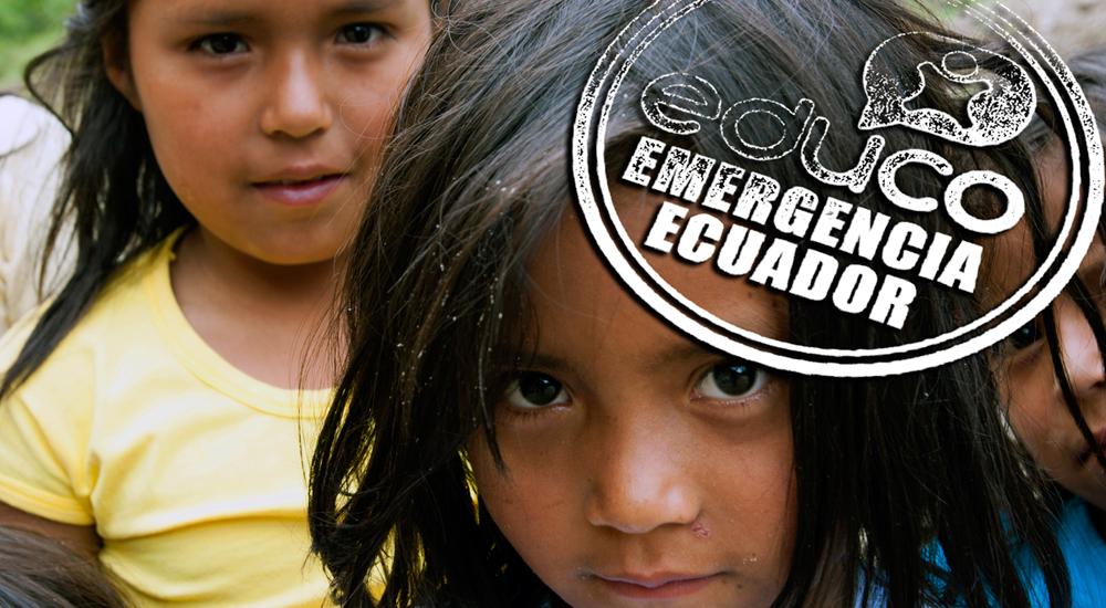 Emergencia en Ecuador: agua y alimentos para el hospital de Portoviejo