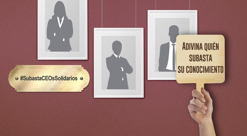 Foto de la entrada:Subastamos el conocimiento de 11 empresarios de éxito para becas ELLA