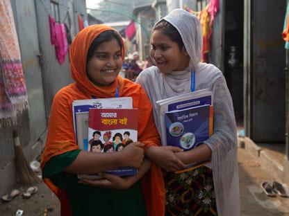 niñas bangladesh, becas ella