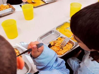 becas comedor, España