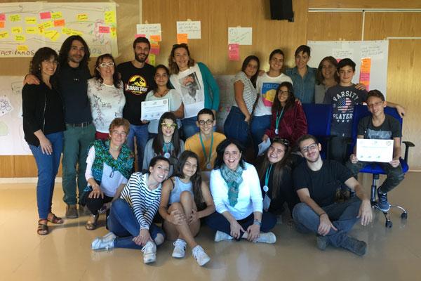 grupo de personas que colaboran en el proyecto