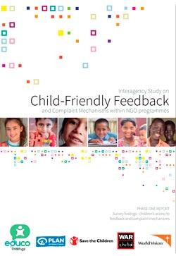 Estudio interinstitucional. Mecanismos de denuncia y opinión para la infancia en los programas de las ONG