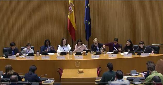 Foto artículo:Segunda Comparecencia de niñas y niños ante la Comisión de Infancia y Adolescencia del Congreso de los Diputados