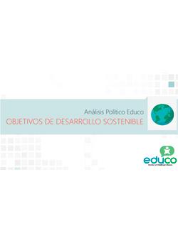 Documento análisis político de Educo sobre los objetivos de desarrollo sostenible