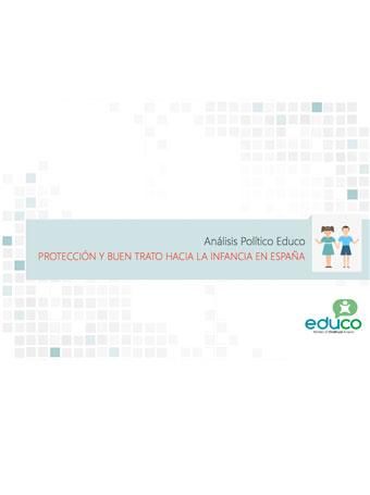 Análisis Político: protección y buen trato hacia la infancia en España