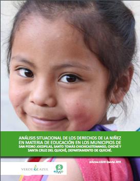 Análisis situacional de derechos de la niñez en materia de educación, Guatemala