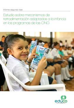 Estudio sobre mecanismos de retroalimentación adaptados a la niñez en los programas de las ONG