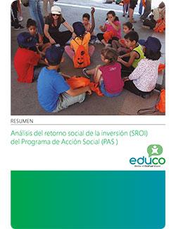 Retorno Social de la Inversión (SROI) del Programa de Acción Social de Educo