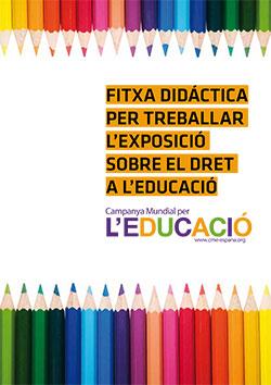Ficha didáctica Materiales. La Campaña Mundial por la Educación