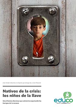 Nativos de la crisis: los niños de la llave