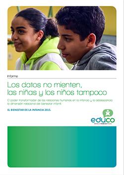 Informe Educo: El bienestar de la infancia en España 2015.
