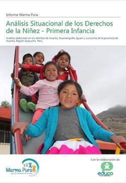 Análisis Situacional de los Derechos de la Niñez - Primera Infancia