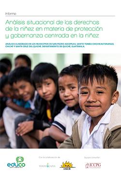 Análisis Situacional de los Derechos de la Niñez en materia de Protección y Gobernanza centrada en la Niñez