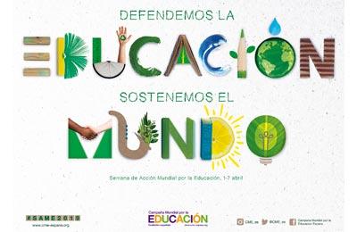 Foto artículo:La Campaña Mundial por la Educación reivindica el papel de la educación en la construcción de un mundo más sostenible