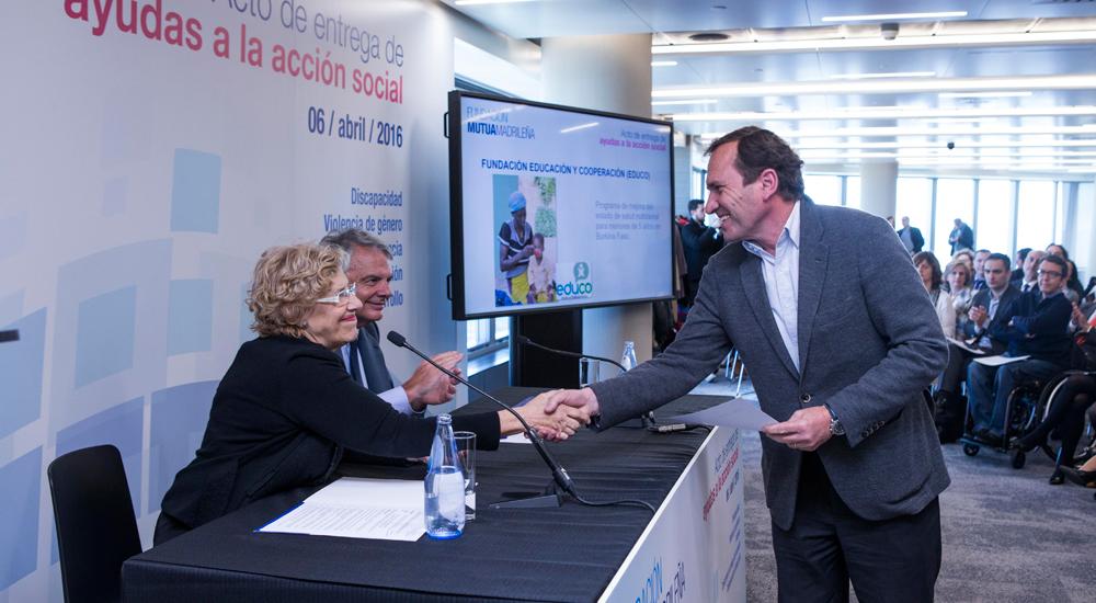 La Fundación Mutua Madrileña colabora con Educo…