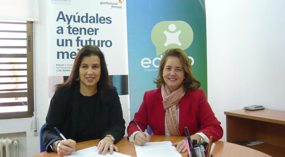 La asociación Día Solidario de Gas Natural Fenosa colabora con nuestras becas comedor